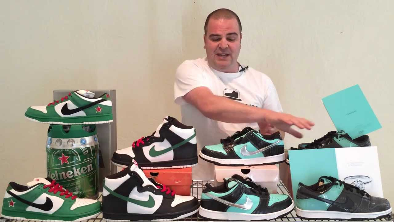 sneakers for cheap d3543 8c157 ShoeZeum Trademark Infringement and Heineken and Tiffany Nike Dunks