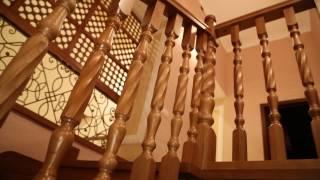 """Деревянные лестницы. Столярная мастерская """"Мой дом""""."""