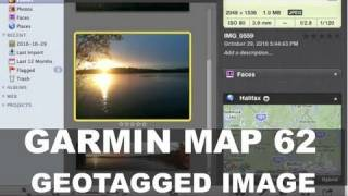Garmin GPSMap 62 - Navigate Using a Geotagged Image