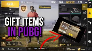 How To Gift Items To Friends! | PUBG Mobile 0.6.0