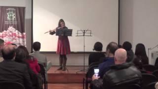 Tanja von Arx - J.S. Bach Partita La menor - Sarabande y Allemande