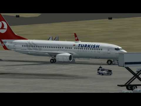 Flight from Aden to Muscat (TURKISH Airlines)
