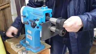 Обзор вальцов и зиговочной машини TZ 12 Metal Master в работе