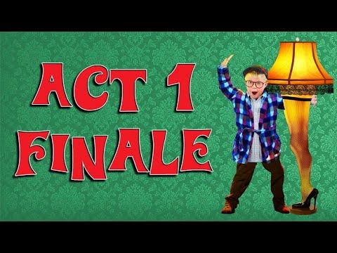 Act I Finale karaoke instrumental A Christmas Story