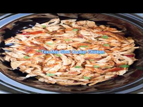 Tex Mex Slow Cooker Chicken