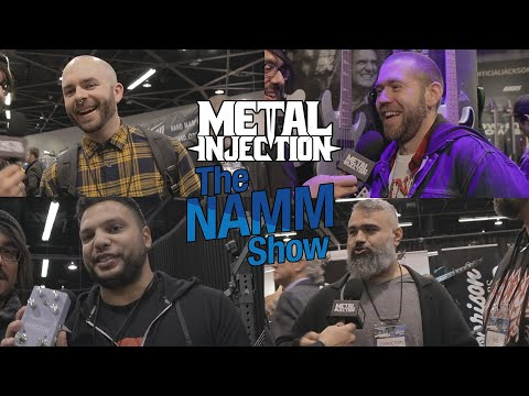 Talking Trash on Musicians at NAMM 2020: Periphery, AAL, Revocation, Archspire | Metal Injection