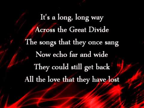 The Great Divide - Tim McGraw Lyrics