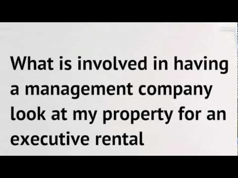 Calgary Property Management - What is involved in having a P