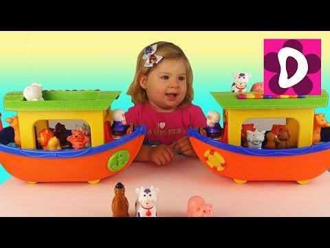 Видео про игрушки рома и диана