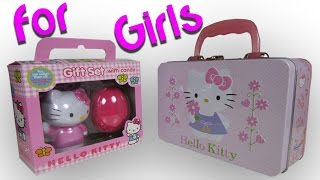 Unwrapping Hello Kitty Lunchbox+Gift Set (English)