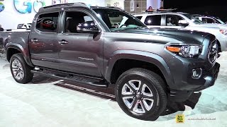 2017 Toyota Tacoma Limited - Exterior and Interior Walkaround - 2016 LA Auto Show
