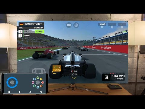 F1 Mobile Racing On Shield Android TV