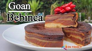 Bebinca Recipe | Goan Bebinca | Goan Dessert | Goan Bibik | Christmas sweet.