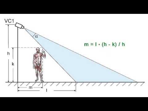 Видеонаблюдение: как оценить мертвую зону под видекамерой
