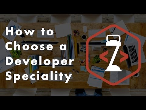 How to Choose a Developer Speciality