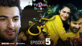 Aas | Episode 5 |  TV One Drama | Zain Baig - Hajra Yamin