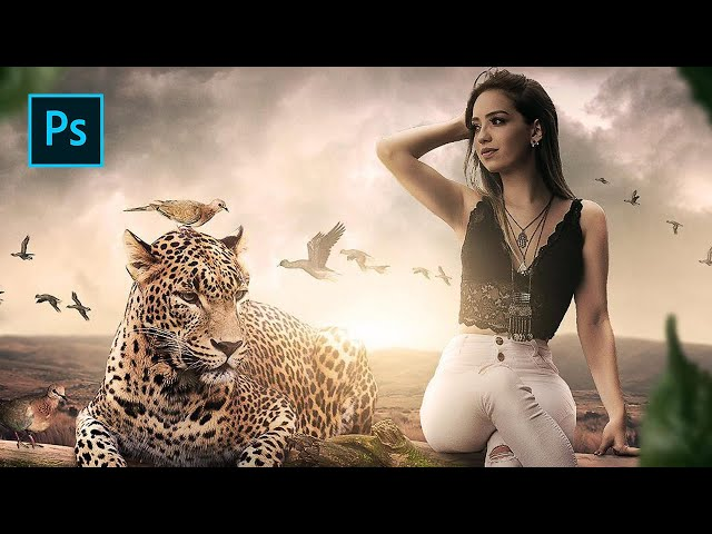 Wild Friends - Photoshop Manipulation Tutorial