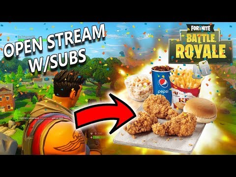 27 Subs away from 1k Fortnite Open Lobby Double Coin Stream!