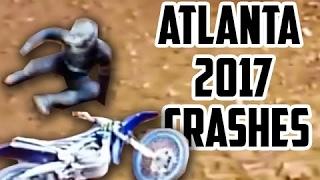 Supercross ATLANTA 2017 Crashes