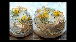 """УКРАШЕНИЕ ТОРТОВ , Торт """"АЛИСА"""" от SWEET BEAUTY СЛАДКАЯ КРАСОТА, CAKE DECORATION"""