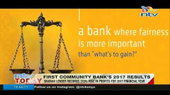 First Community Bank records 372% rise in profits for 2017