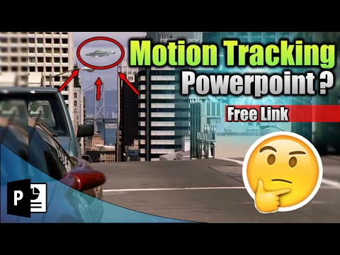 Como Hacer Efecto Motion Tracking (Free Link)『POWERPOINT』