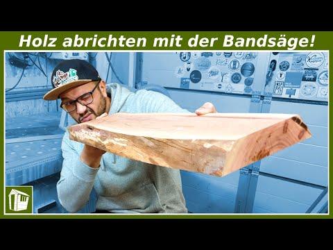 Holz abrichten mit der Bandsäge? Geht ganz einfach! Werkstatt Ideen | Franks Shed