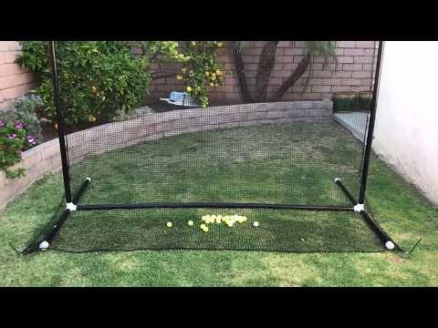My build it yourself DIY golf practice net
