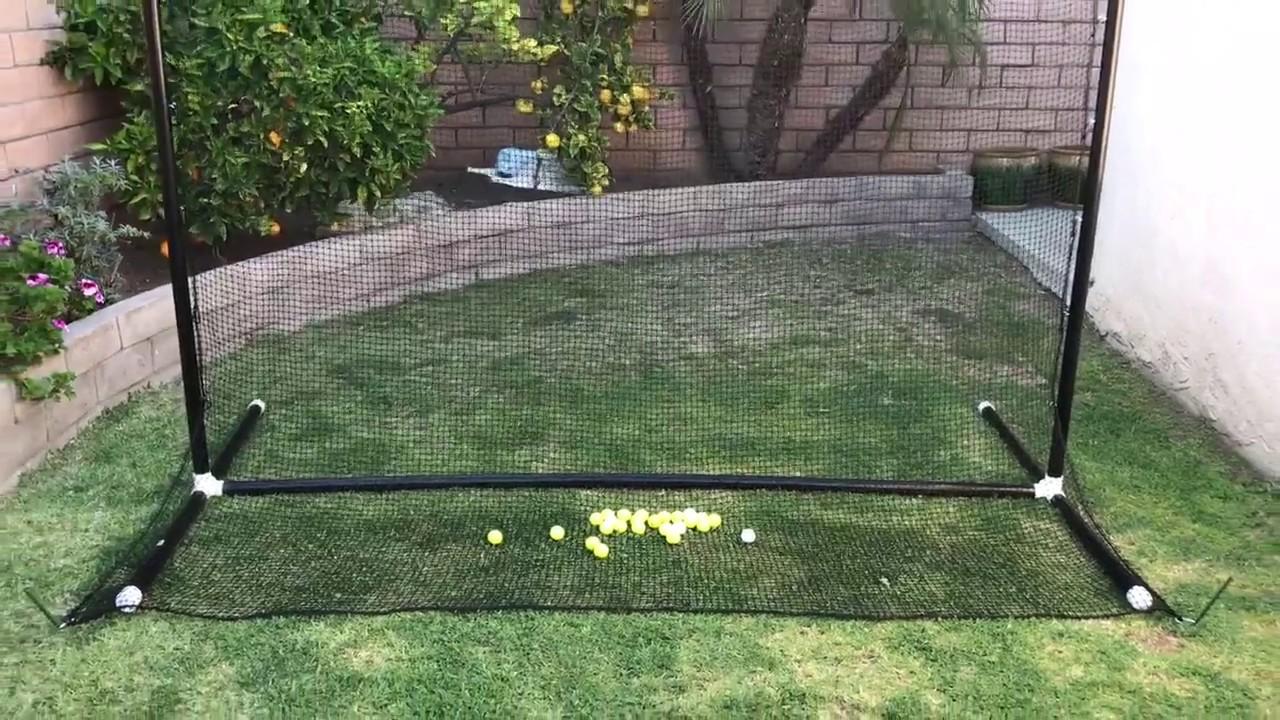 build it yourself DIY golf practice net
