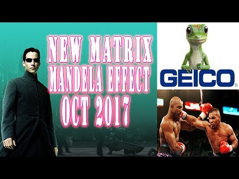New Mandela Effect Examples - Proof - 2017 - Matrix Mandela Effect - freakiest examples