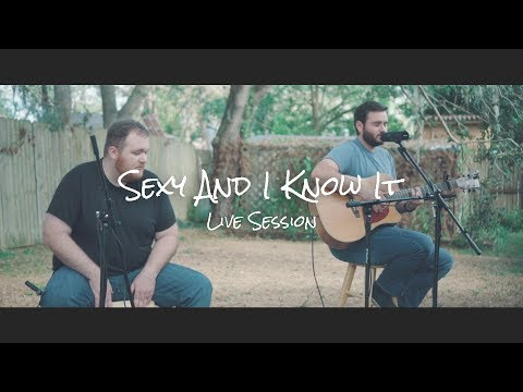 LMFAO - Sexy and I Know It | LIVE Acoustic Cover