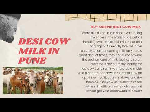 Buy Organic A2 Milk in Pune