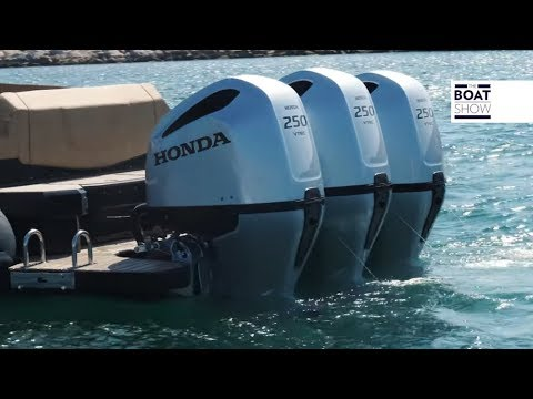 [ENG] HONDA BF 250 VTEC - Triple Engine Review - The Boat Show