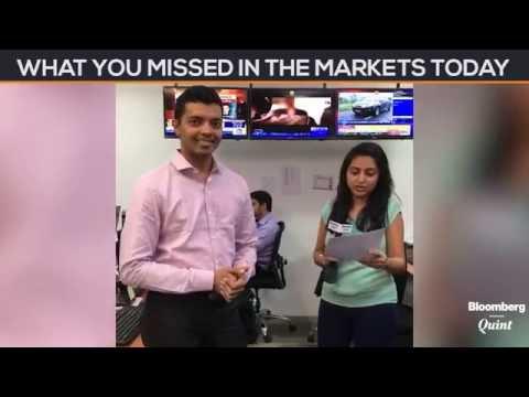 Market Wrap: Sensex, Nifty End Lower