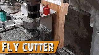 Making a Fly Cutter to make the yokes for the Suzuki Bandit Cafe Racer