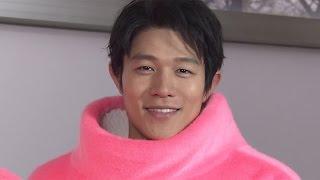 """鈴木亮平、4月連ドラで着ぐるみの""""中の人""""に 福士蒼汰も絶賛 ドラマ「お迎えデス。」 #Ryohei Suzuki #drama"""