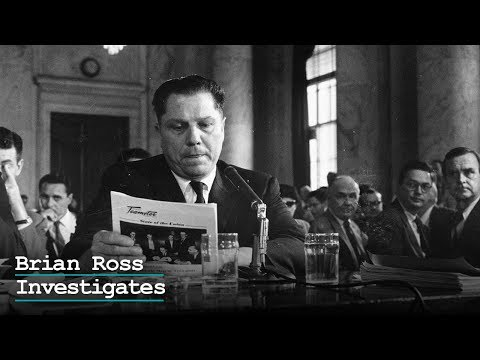 Brian Ross Investigates — American Crime Mystery: The Disappearance of Jimmy Hoffa