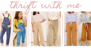 THRIFT WITH ME | thrifting my pinterest