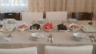 Bafrada İftar Yemeği Baba Ocağı İftar Hazırlığı