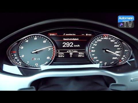 2017 audi s8 plus 605hp 0 300 km h acceleration 60fps youtube rh youtube com