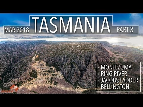 Australia: Tasmania 4wd Part 3 | Montezuma | Ring River | Jacobs Ladder | Bellington [2018] #141