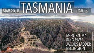 Australia: Tasmania 4wd Part 3 | Montezuma | Ring River | Jacobs Ladder | Bellington [2018] #141