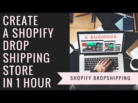 Master Shopify Dropshipping - Create a Shopify Dropshipping Store in 1 Hour (2018)