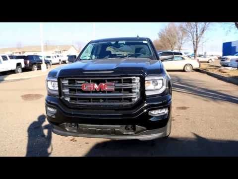 Onyx Black 2017 GMC Sierra 1500 SLT All-Terrain for sale in Medicine Hat, AB!