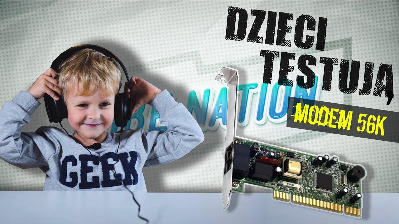 Przedszkolaki oceniają: dźwięk modemu 56k