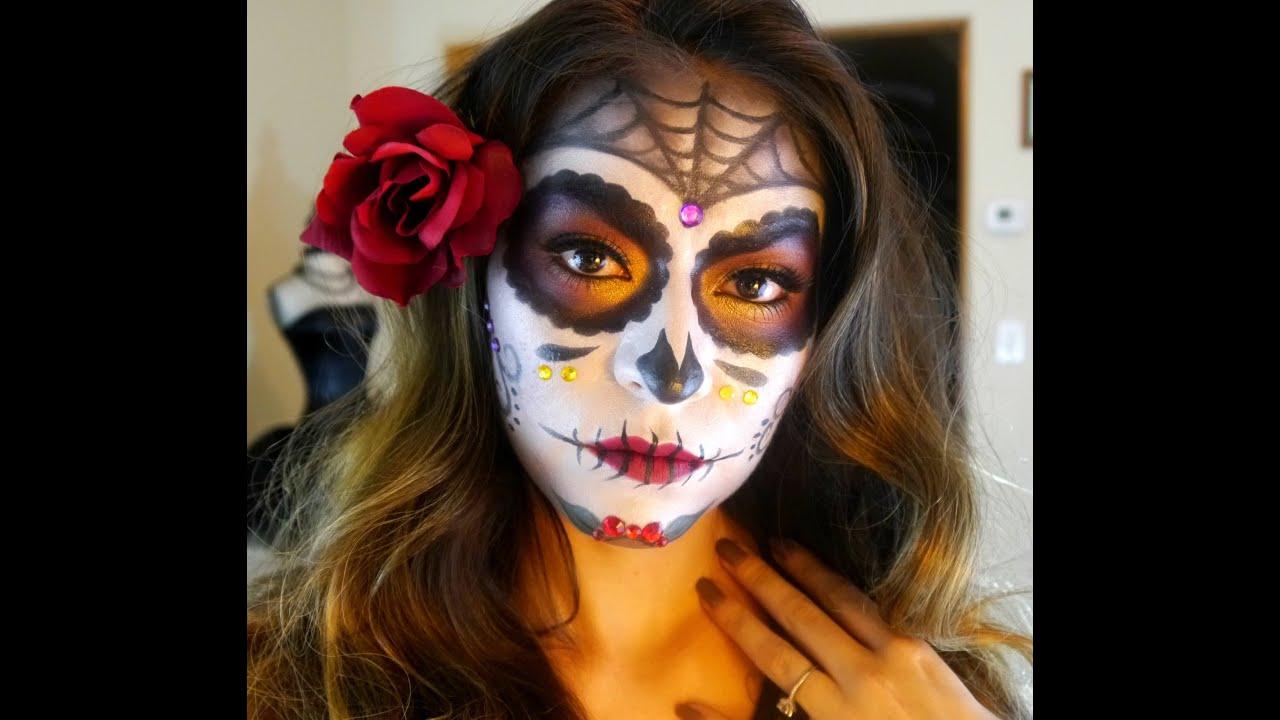 Sugar Skull Makeup Tutorial | Dia De Los Muertos ...