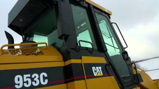 Caterpillar 953C Tracked Loader For Sale Inspection Video!