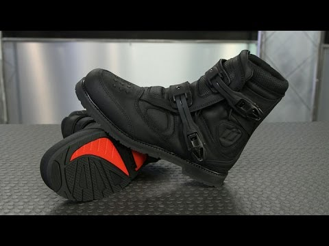 72f883a50b3 ICON Patrol Waterproof Boots | Motorcycle Superstore