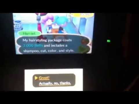 Animal Crossing New Leaf The Best 2 Hairstyles For Girls How To