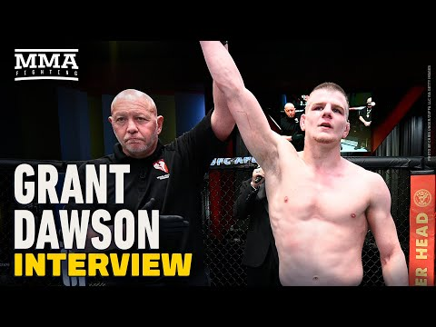 Grant Dawson Defends Clay Guida Callout Following Last Second KO Win at UFC Vegas 22 - MMA Fighting
